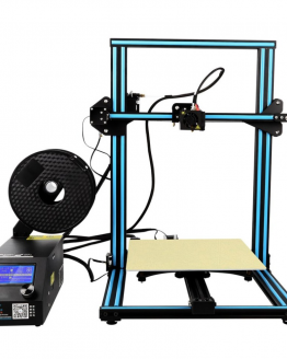 CR10 3D printer front view 300x300x400 build volume