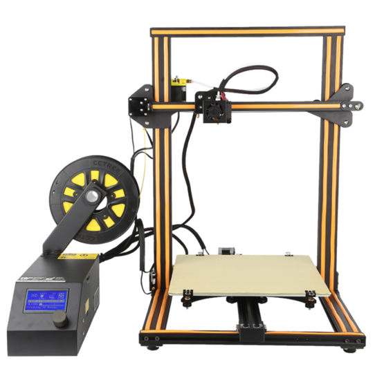 CR10 3D printer front view 300x300x400 orange