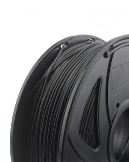 Kiwi3D Carbon Fiber PLA filament close up