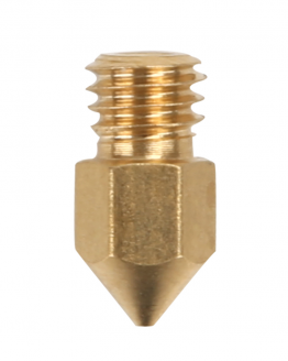 M6 brass 3D printer nozzle