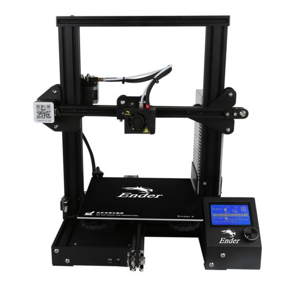 Ender 3 3D printer front view