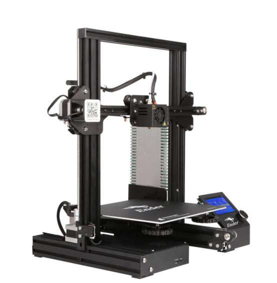 Ender 3 3D printer side view