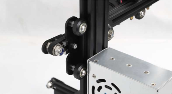 Ender 3 3D printer side v slot roller
