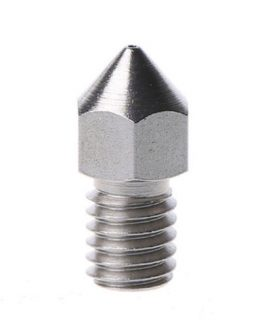 M6 Stainless 3D printer nozzle side view