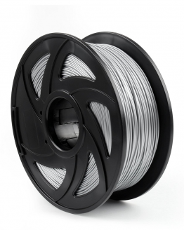 Kiwi3D Silver PLA filament front view