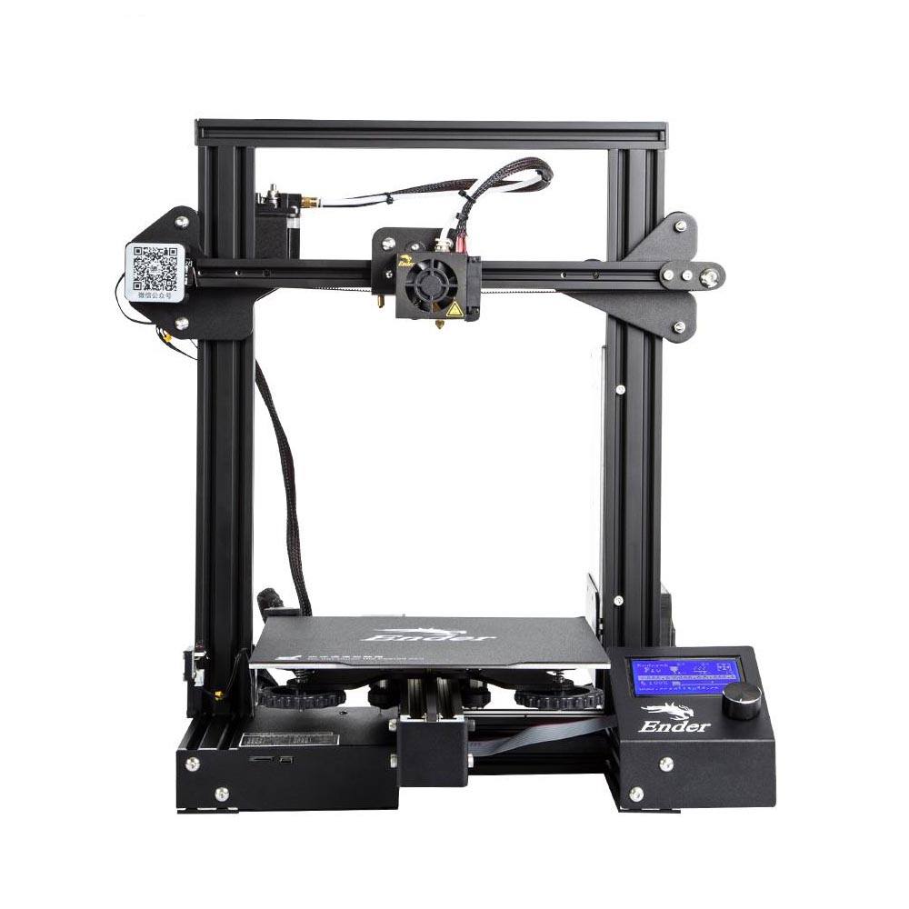 photo about Ender 3 Printable Upgrades titled Creality Ender 3 Specialist 3D printer 220x220x250mm Acquire Sum